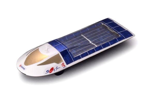 Byggmodell bil - Solar Car Kyocera SEV-5 - Tamiya