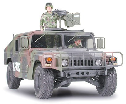 Stridsfordon byggmodell - Humvee armament carrier - 1:35 - Tamyia