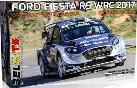 Bil byggmodell - Ford Fiesta RS WRC 2017 Drivers Ott Tänak, Martin Järveoja - 1:24 - Belkits