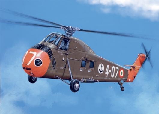 Byggmodell helikopter - HSS-1 Seabat - 1:72 - Italieri