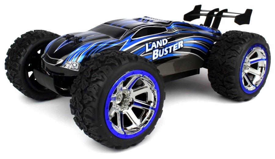 Radiostyrd bil - 1:12 - Land Buster 2,4Ghz - Blue - RTR