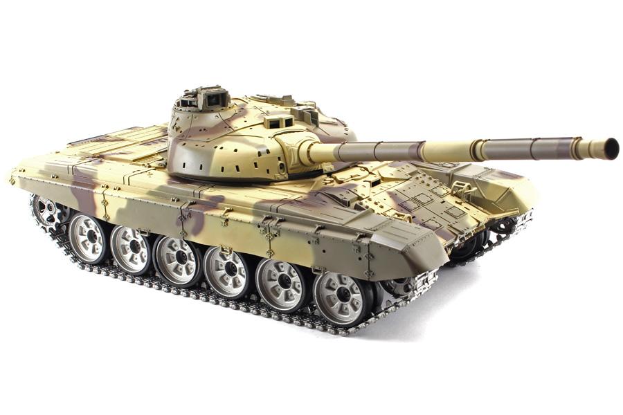 Radiostyrd stridsvagn - 1:16 - T90 V6 - 2,4Ghz - Metall - s.airg. rök & ljud - RTR