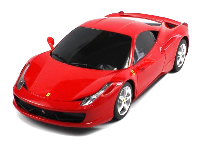 Radiostyrd bil - 1:18 - FERRARI 458 Italia - RTR