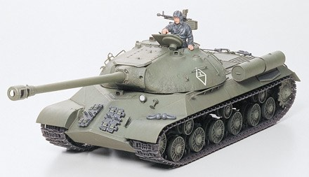 Byggmodell stridsvagn - STALIN JS3 1:35  - Tamiya