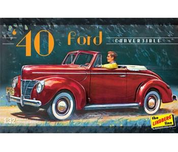 Byggmodell bil - 1940 FORD - 1:32 - Lindberg