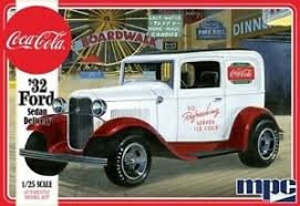 Byggmodell bil - 1932 Coca-Cola Ford Sedan Delivery - 1:25 - MPC