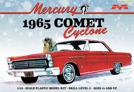 Byggmodell bil - 1965 Mercury Comet Cyclone - 1:25 - Moebius Models