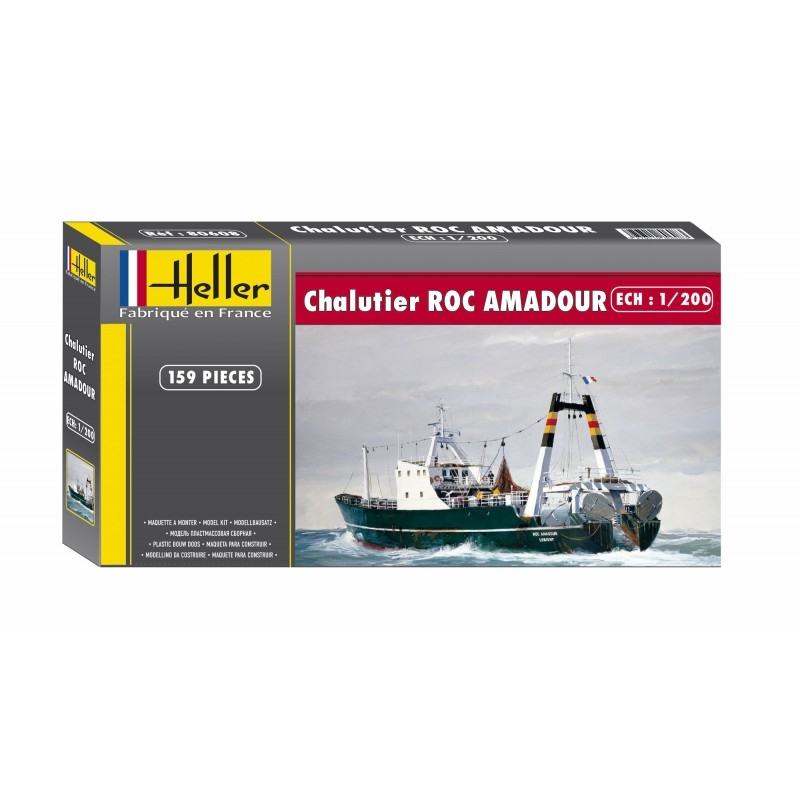 Byggmodell båt - Roc Amadour - 1:200 - Heller