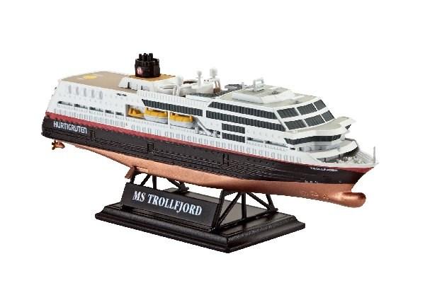 Byggmodell båt - Hurtigruten 125th Anniversary - 1:1200 - Revell