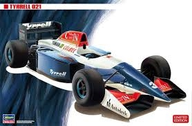 Byggmodell bil - Tyrrell Yamaha 021 - 1:24 - Hasegawa