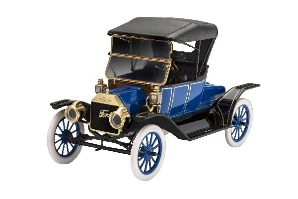 Byggmodell bil - 1913 Ford Model T Roadster - 1:24 - Revell