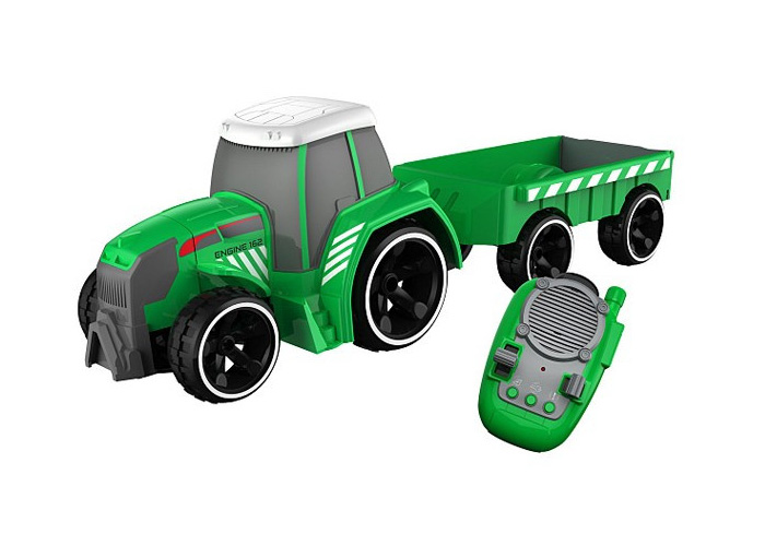 Radiostyrd Traktor - Silverlit Tooko Tractor + Trailer - RTR
