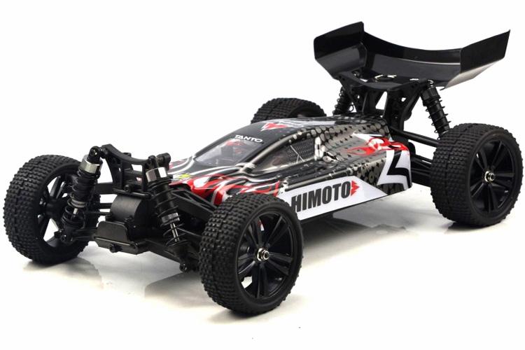 Radiostyrda bilar - 1:10 - Tanto Buggy BL 4wd - Svart - 2,4Ghz - RTR