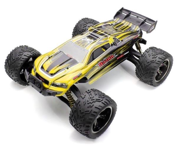 Radiostyrd bil - 1:12 - Wild Truggy 2WD - 2,4Ghz - Gul - RTR