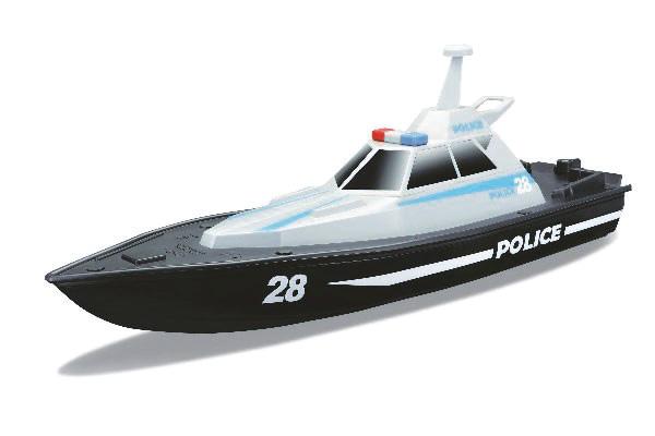 Radiostyrd båt - Police Speed Boat - 2.4GHz - RTR