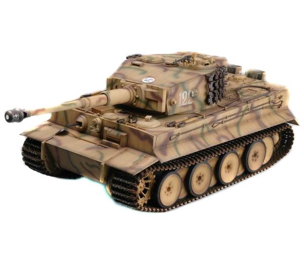 Radiostyrd stridsvagn - 1:16 - Tiger I - Trumpeter - 2,4Ghz - RTR
