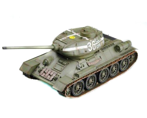 Radiostyrd stridsvagn - 1:16 - Russian T34/85 - Trumpeter - 2,4Ghz - RTR