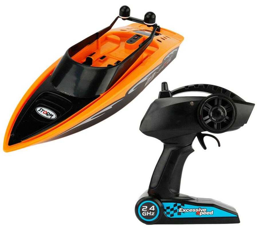 Radiostyrd båt - Gear4Play NRG23 Racing Boat - 2,4Ghz - RTR