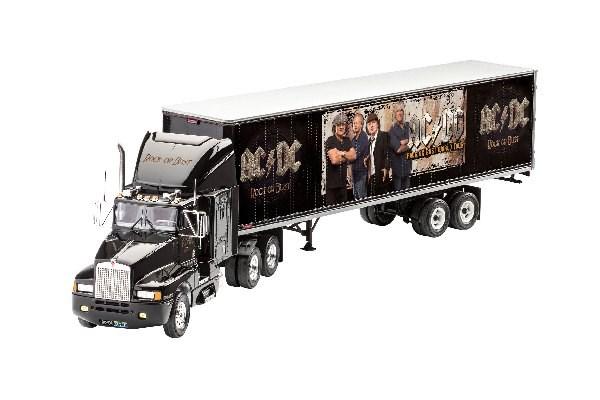 """Byggmodell lastbil - Gift Set """"AC/DC"""" Tour Truck - 1:32 - Revell"""