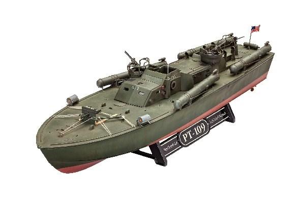 Byggmodell krigsfartyg - Patrol Torpedo Boat PT-109 - 1:72-  Revell