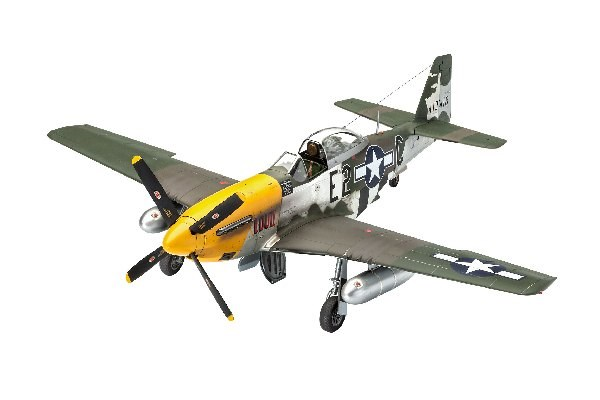 Byggmodell flygplan - P-51D-5NA Mustang (early version) - 1:32 - Revell