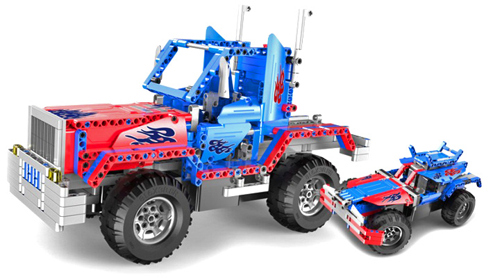 RC bygg modell - CaDA Technic Optimus - 2 in 1 - 2,4Ghz - DE