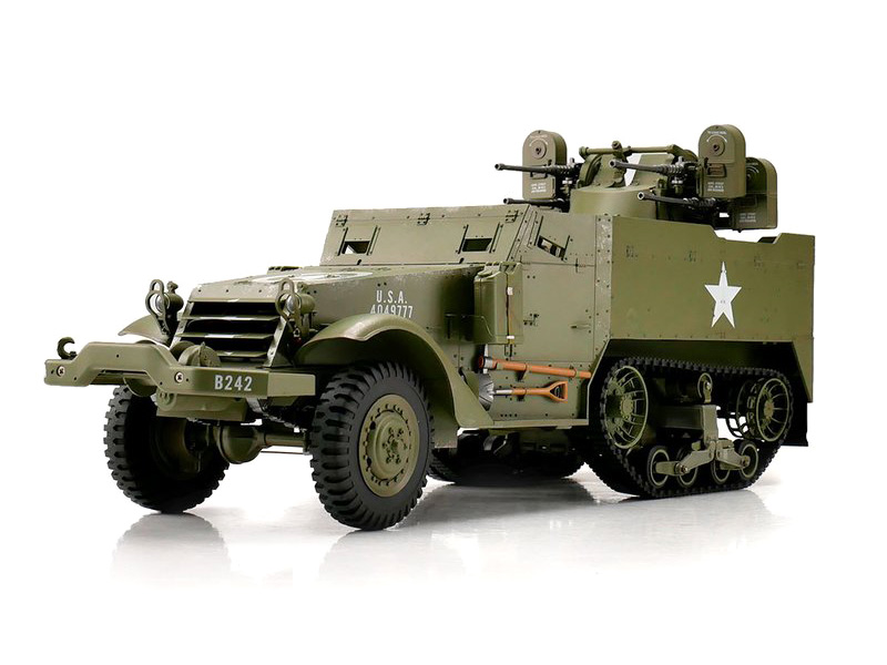 RC Militärfordon - M16 Half-track - 1:16 - 2,4Ghz - RTR