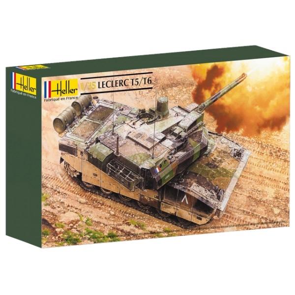 Byggmodell stridsvagn - Leclerc T5 / T6 - 1:35 - Heller