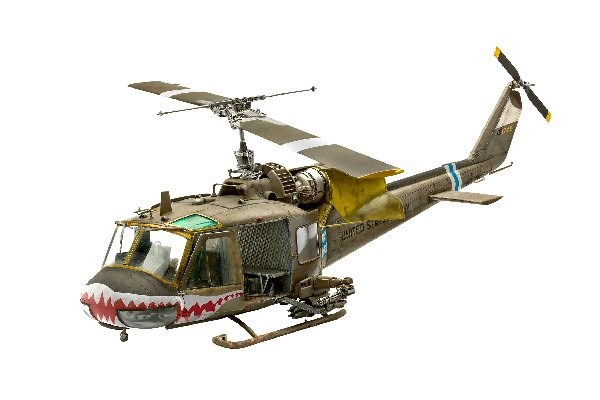 Byggmodell helikopter - Bell UH-1C - 1:35 - Revell