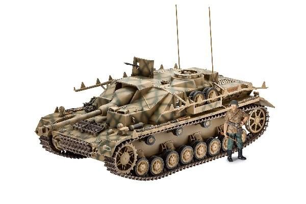 Byggmodell stridsvagn - Sd,Kfz, 167 StuG IV - 1:35 - Revell