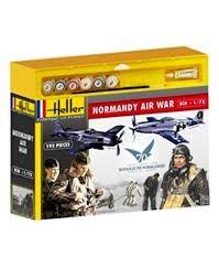 Byggmodell - Normandy Air War - 1:72 - Heller