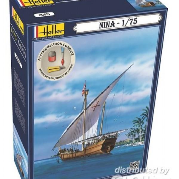 Byggmodell segelbåt - Nina - 1:72 - Heller