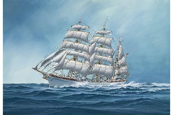 Byggmodell segelfartyg - Gorch Fock - 60th Anniversary 1:253 Revell
