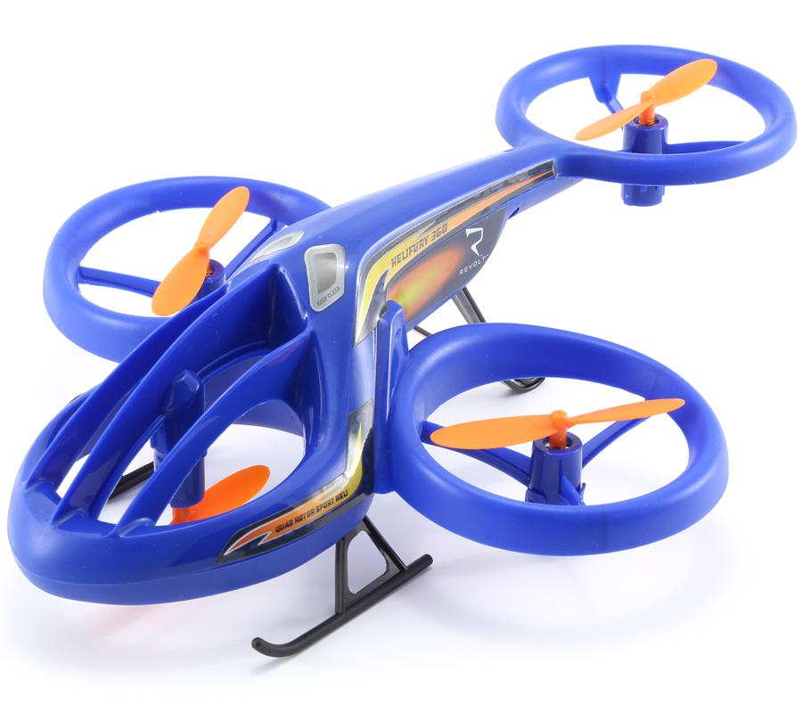 Radiostyrd dron - Mini copter Helifury - 4ch - 2,4Ghz - RTF