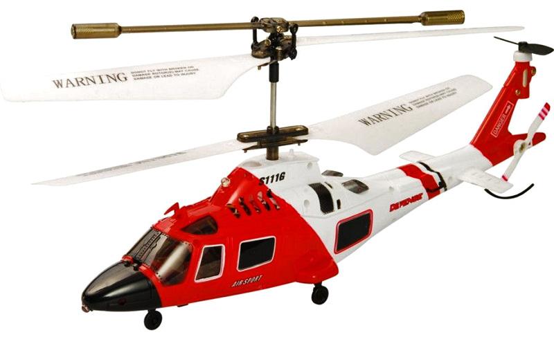 Radiostyrd helikopter - AgustaWestland A109E Power  - 3,5ch - RTF