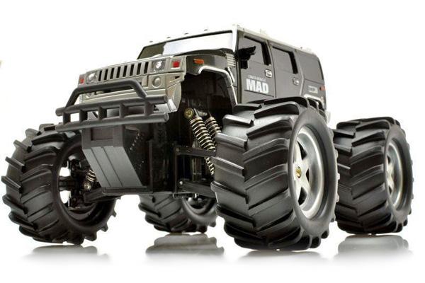 Radiostyrd bil - 1:16 - Mad Monster Max Black - RTR