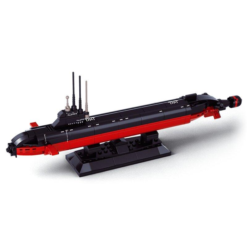 U-Boot - Byggklossar - 1:350