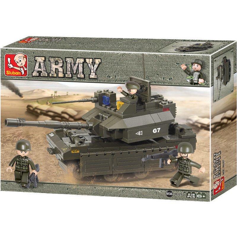 Battle tank - byggklossar - Sluban