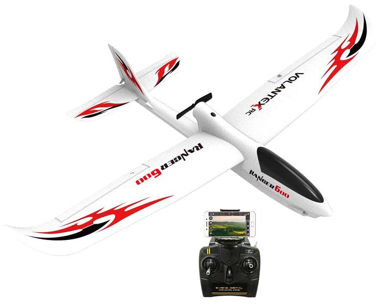Radiostyrt flygplan - Ranger 600 - 2,4Ghz - SRTF
