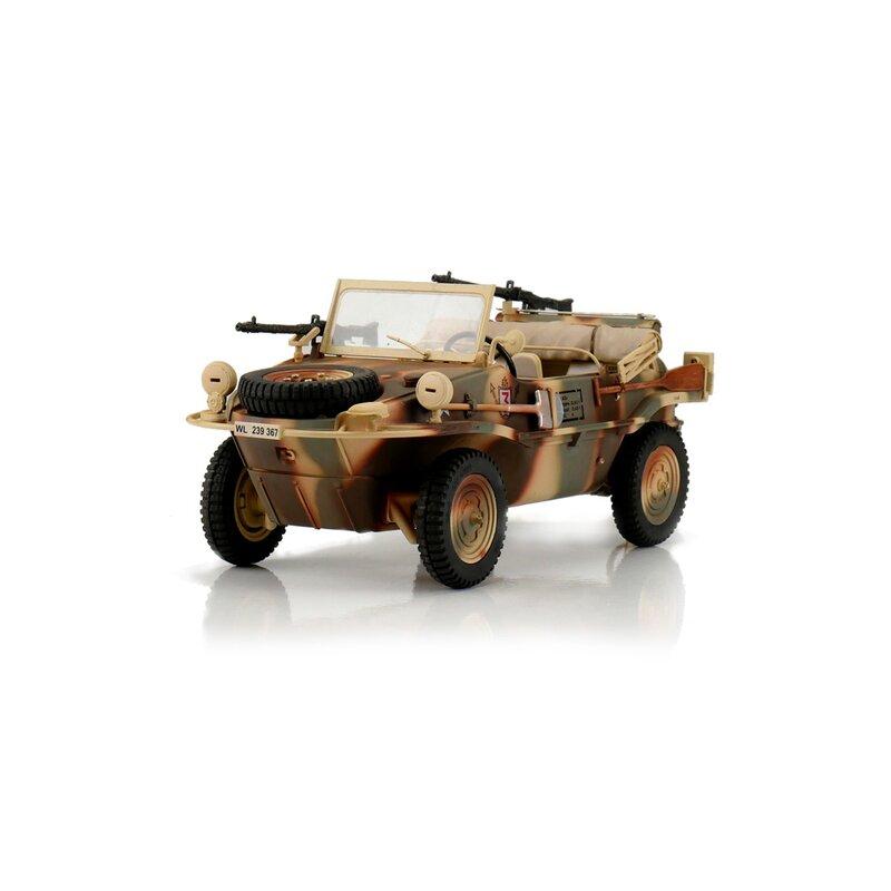 RC Stridsfordon - 1:16 - RC VW Schwimmwagen T166 camo - Torro - 2,4Ghz - RTR