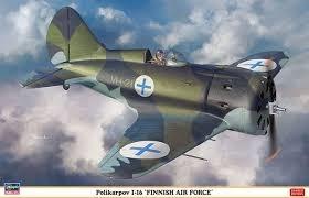 Byggmodell flygplan - Polikarpov I-16 Finnish Air Force - 1:32 - Hasegawa