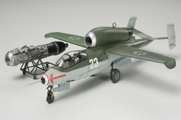 Byggmodell flygplan -  Heinkel He162 A-2 Salamander 1:48 Tamiya