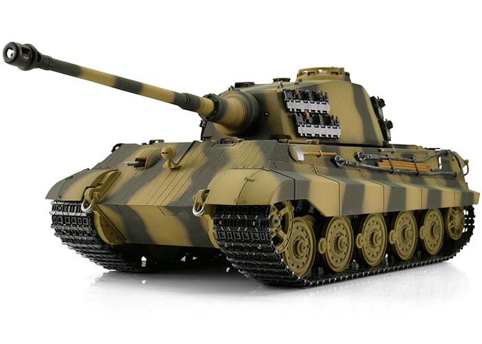 1:16 - King Tiger, Königstiger Summer - Torro Pro IR - 2,4Ghz - RTR