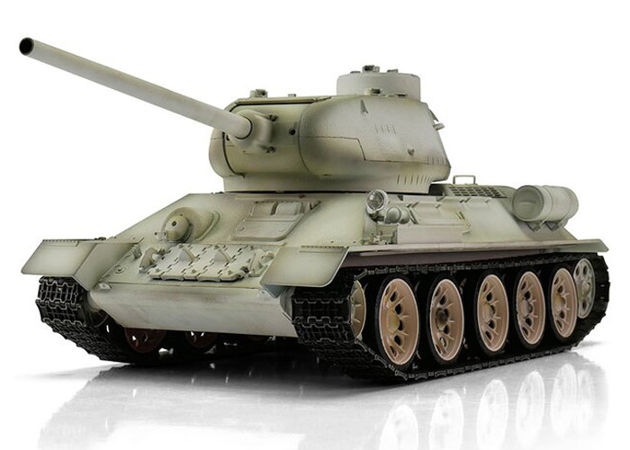 1:16 - T-34/85 winter - Torro Pro BB - 2,4Ghz - RTR