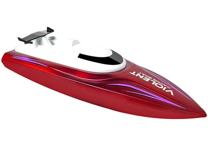 RC båt - Violent - 1:14 - Röd - 2,4Ghz - RTR