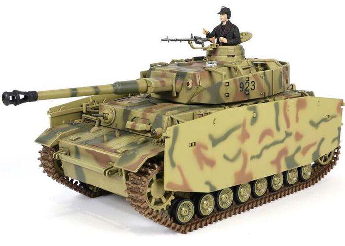 Radiostyrd stridsvagn - PzKpfw IV Ausf. H F.O.V - IR - 2,4GHz - RTR