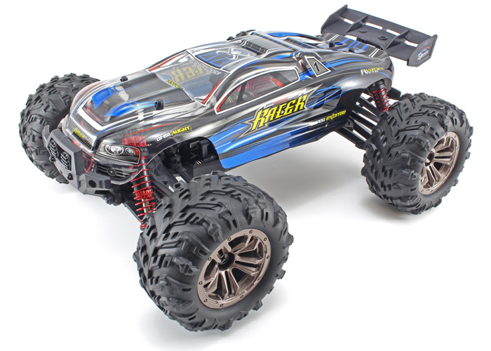 Radiostyrd bil - 1:16 - Spirit T16 - 2,4ghz - Blå - RTR