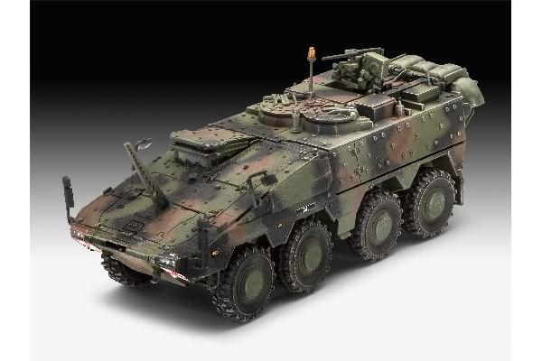 Byggmodell stridsfordon - GTK Boxer Command Post NL- 1:72 - Re