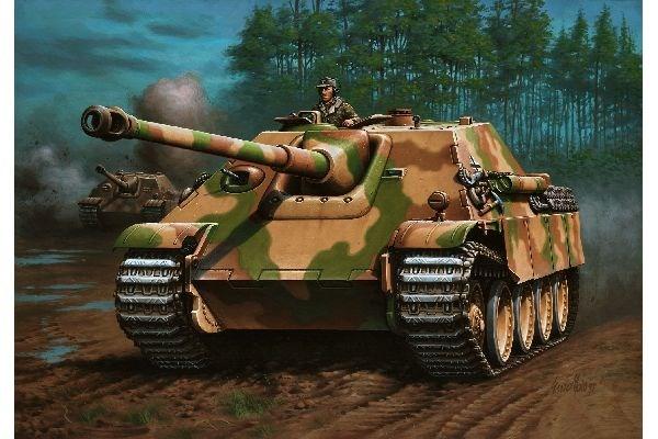 Byggmodell stridsvagn - Jagdpanther Sd.Kfz.173 - 1:72 - Revell