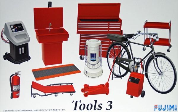 Byggmodell - Tools No. 3 - 1:24 - Fujimi